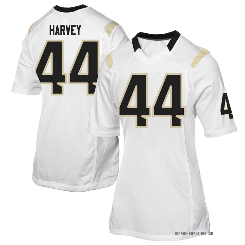 Game Women's RJ Harvey UCF Knights White Football College Jersey